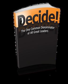 Free e-copy of Decide by Gino Wickman